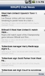 WHUFC Club News screenshot 1/1