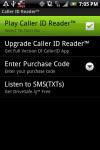 Caller ID Reader - Android screenshot 1/1