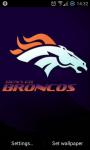 Denver Broncos NFL Live Wallpaper screenshot 1/2