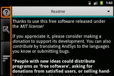 AndSys ~ Apps screenshot 4/5