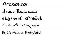 ★ Arabic for FlipFont® free screenshot 1/1