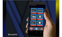 MinimalHD Next Launcher 3D Theme screenshot 3/5