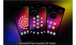 MinimalHD Next Launcher 3D Theme screenshot 5/5