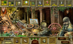 Free Hidden Object Games - Mystery Temple screenshot 3/4
