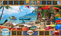 Free Hidden Object Games - Beach Day screenshot 3/4
