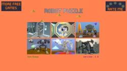 Cartoon Robot Puzzle screenshot 1/3