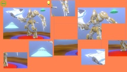 Cartoon Robot Puzzle screenshot 3/3