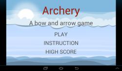 The Archery game screenshot 4/4