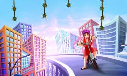 Bike Girl City Rush screenshot 2/3