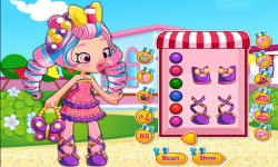 Shopkins Shoppies Bubbleisha Dress Up Game screenshot 2/3