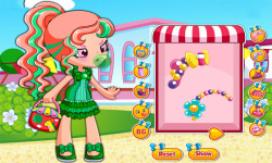 Shopkins Shoppies Bubbleisha Dress Up Game screenshot 3/3