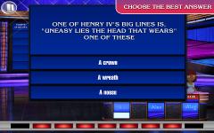 Jeopardy HD final screenshot 1/6