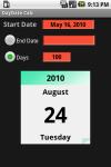 Day Date Calc screenshot 1/3