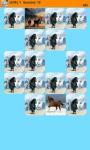 Horses Memory Game screenshot 2/6
