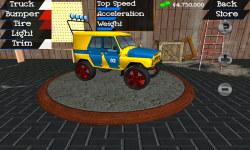 Offroad 4x4 Toy Truck Drag Race 3D Free screenshot 1/4