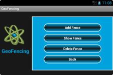 GeoFencing screenshot 2/5