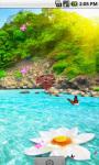 Great Waterfall Scenery Live Wallpaper screenshot 1/4