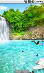 Great Waterfall Scenery Live Wallpaper screenshot 2/4