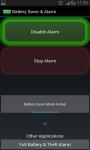 Battery Saver and Alarm screenshot 2/5