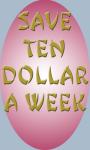 Save Ten Dollar a Week screenshot 1/3