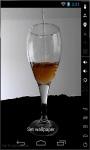 Glass Of Wine Live Wallpaper screenshot 2/2