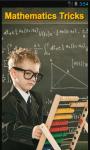 Mathematics Tricks screenshot 1/4