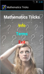 Mathematics Tricks screenshot 2/4