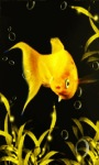 Yellow Fish Bubble Live Wallpaper screenshot 1/3