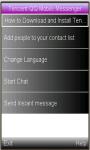 Tencent QQ Mobile Messenger Usage screenshot 1/1