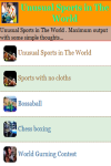Unusual Sports in The World screenshot 2/3