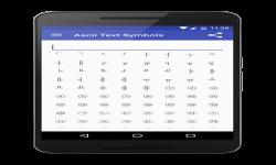 Ascii text symbols screenshot 3/3