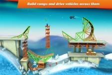 Bridge Constructor Stunts original screenshot 3/6