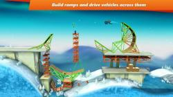 Bridge Constructor Stunts original screenshot 6/6