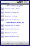 AudioConfig screenshot 1/2