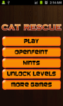 Cat Rescue - Free screenshot 1/4