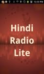 Hindi Radio  Lite screenshot 1/3