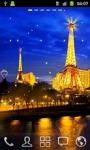 Eiffel Tower at Night HD LWP screenshot 1/2