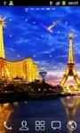 Eiffel Tower at Night HD LWP screenshot 2/2