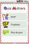 Quiz Métiers en français screenshot 1/5