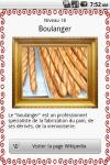 Quiz Métiers en français screenshot 5/5