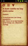 Spanish Proverbs screenshot 1/2