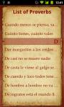Spanish Proverbs screenshot 2/2