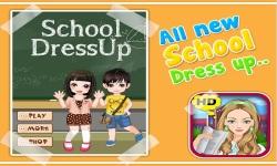 School Dressup - Kids Games screenshot 1/5