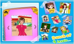 School Dressup - Kids Games screenshot 2/5