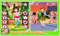 School Dressup - Kids Games screenshot 3/5