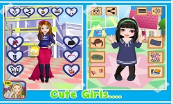 School Dressup - Kids Games screenshot 4/5