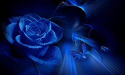 Galaxy S4 Blue Wallpaper screenshot 1/4