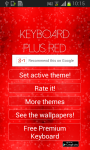 Keyboard Plus Red screenshot 1/6