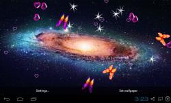 3D Galaxy Live Wallpaper HQ screenshot 4/5