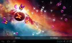 3D Galaxy Live Wallpaper HQ screenshot 5/5